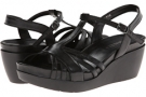 Black Cavo Nappa Vaneli Pallas for Women (Size 4.5)