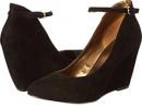Black Suede Nine West Zelene for Women (Size 7)