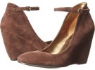 Dark Brown Suede Nine West Zelene for Women (Size 7)