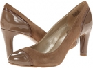 Taupe Multi Suede Bandolino Levenham for Women (Size 5.5)