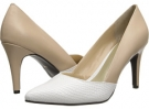 Sand/White Ann Marino Kazoo for Women (Size 7)