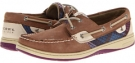 Greige/Purple Plaid Sperry Top-Sider Bluefish 2-Eye for Women (Size 5.5)
