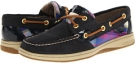 Navy Nubuck/Cobalt Plaid Sperry Top-Sider Bluefish 2-Eye for Women (Size 5.5)