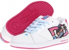 White/Crazy Pink DC Raif W for Women (Size 7)