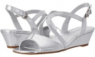 Silver Synthetic Bandolino Grayson for Women (Size 5.5)