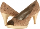 Light Gold/Cork Synthetic Bandolino Mylah for Women (Size 5.5)