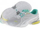 Glacier Gray/Sunny Lime/Electric PUMA Voltaic 5 for Women (Size 7)