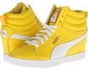 Dandelion/White PUMA Puma Classic Wedge LL for Women (Size 7)