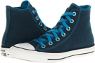 Converse Chuck Taylor All Star Dark Wash Neons Hi Size 6