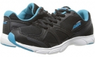 Black/Young Turquoise/Chrome Silver Avia Avi-Stryde II for Women (Size 7)