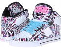 White/Black/Zebra Osiris NYC83 VLC W for Women (Size 7.5)
