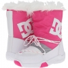 White/Fluorescent/Pink DC Lodge Boot W for Women (Size 7)