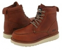 Rust Full-Grain Leather Timberland PRO Timberland PRO 6 Wedge for Men (Size 11)