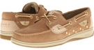 Linen/Gold Metallic Dot Sperry Top-Sider Bluefish 2-Eye for Women (Size 9.5)