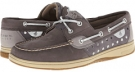 Graphite/Silver Metallic Dot Sperry Top-Sider Bluefish 2-Eye for Women (Size 5.5)