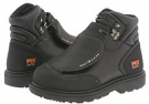 Black Ever-Guard Leather Timberland PRO Met Guard 6 Steel Toe for Men (Size 7.5)