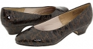 Dark Brown Patent Croco Soft Style Angel II for Women (Size 4)
