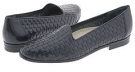 Navy Calf Trotters Liz for Women (Size 5.5)