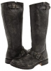 Black Calf Shine Vintage Frye Veronica Slouch for Women (Size 11)