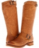 Camel Soft Vintage Leather Frye Veronica Slouch for Women (Size 11)