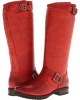 Burnt Red Soft Vintage Leather Frye Veronica Slouch for Women (Size 11)