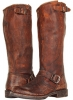 Cognac Stone Antiqued Frye Veronica Slouch for Women (Size 11)