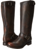 Dark Brown Brush Off Frye Veronica Slouch for Women (Size 11)
