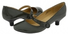Dark Grey Patent Leather Gabriella Rocha Ginger for Women (Size 7)