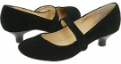 Black Suede Leather Gabriella Rocha Ginger for Women (Size 7)