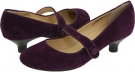 Purple Suede Leather Gabriella Rocha Ginger for Women (Size 7)