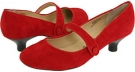 Red Suede Leather Gabriella Rocha Ginger for Women (Size 7)
