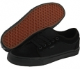 Black/Black Cow Silk Vans Chukka Low for Men (Size 8.5)