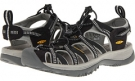 Black/Neutral Gray Keen Whisper for Women (Size 5)