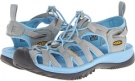 Neutral Gray/Alaskan Blue Keen Whisper for Women (Size 5.5)