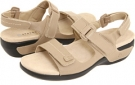 Taupe Leather Aravon Katy for Women (Size 7)