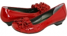 Red Smack Metallic Patent Vaneli Genie for Women (Size 4.5)