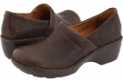 Cafe Full-Grain Leather Born Toby for Women (Size 6.5)