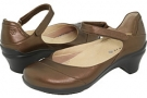Bronze Metallic Leather Aravon Maya for Women (Size 7)
