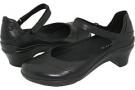 Black Leather Aravon Maya for Women (Size 7)