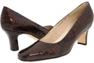 Brown Croco Fitzwell Vincent Pump for Women (Size 5)