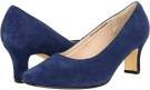 Blue Suede Fitzwell Vincent Pump for Women (Size 5)