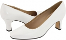 White Nappa Fitzwell Vincent Pump for Women (Size 5)