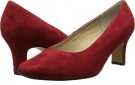 Red Suede Fitzwell Vincent Pump for Women (Size 5)