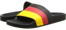 Black/Collegiate Red/Sunshine adidas Originals adilette for Men (Size 4)
