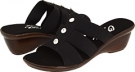 Black Elastic Onex Miley for Women (Size 5)