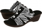 White Zebra Onex Miley for Women (Size 5)