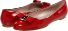 Rosso Patent Salvatore Ferragamo Varina for Women (Size 10.5)
