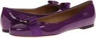 Grape Patent Salvatore Ferragamo Varina for Women (Size 6.5)