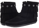 Double Fringe Side Zip Boot Women's 5.5