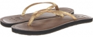 Gold Metallic Ocean Minded Oumi for Women (Size 7)